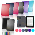 Ultra Slim Leather Smart Case Cover for Amazon Kindle Paperwhite with Sleep Wake
