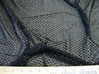 Discount Fabric Stretch Mesh Lace Black Embroidered Diamond Lattice Sheen 808LC