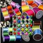 80 Yard Assorted 0.5mm Crystal Elastic Stretchy Jewellery SP String Cord Thread