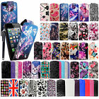 FOR APPLE IPHONE 5 5S 5G STYLISH PRINTED LEATHER MAGNETIC FLIP CASE COVER+ GUARD