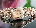 Luxury Glitter Rhinestone Womens Stainless Steel Quartz Analog Wrist Watch