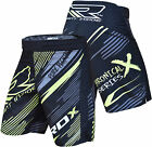 RDX MMA Shorts Grappling UFC Kick Boxing Mens Muay Thai Cage Fight Trunks R5B