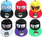 ADULTS MENS WOMENS LADIES NY STATE RUNS SNAPBACK RETRO HIP HOP BASEBALL CAP HAT