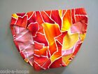 CLASSIC Style Red/Orange Bikini Brief Men's Swimsuit Size M - Handmade in USA