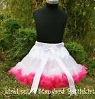 White Hot Pink Pettiskirt Birthday Party Tutu 1-10Y W75