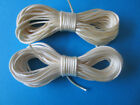 10 Metres X 2mm RATTAIL CORD Satin Nylon - CHOICE of LIGHT BEIGE or PALE IVORY