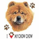 Chow Chow Love Hood Sweatshirt Pick Your Size