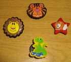 JIBBITZ / SHOE CHARMS ~ BOYS ~ ANIMALS ~ DINOSAUR, LION & TIGER