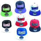 ADULTS MENS WOMENS LOS ANGELES LA STATE SNAPBACK RETRO HIP HOP BASEBALL CAP HAT