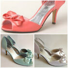 NEW $109 Top End Cabelia High Heels in Mint Green, Coral or White Womens Ladies