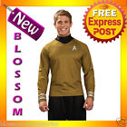 C677 Star Trek Movie (2009) - Gold Shirt Captain James Kirk Deluxe Adult Costume