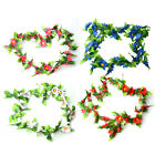 2.05M Beautiful Artificial Silk ROSE Fake FLOWER Ivy Leaf Garland Plants Home