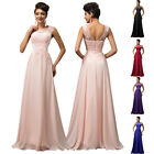 IN Red Strapless Waistband Bridesmaid Wedding Evening Cocktail Full Length Dress