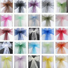 300 Organza Sash Chair Bow Wedding Party Brithday Supply Banquet Decor Color New