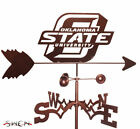 Hand Made OKLAHOMA STATE COWBOYS Weathervane ~NEW~