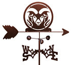 SWEN Products COLORADO STATE RAMS Steel Weathervane