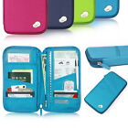 Travel Wallet Organizer Passport Credit Card Holder Cash Purse Case Bag Handbag