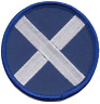 More images of Scotland Scottish Saltire Round Flag Embroidered Patch Badge