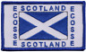 More images of Scotland Scottish Saltire Ecosse Rectangular Embroidered Patch Badge