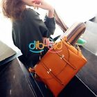 kawaii Women Lady PU Leather Shoulder Bag Mature Tote Hobo Purse Handbag ERUS