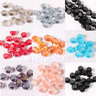 70pcs Round Glass Crystal Spacer Beads Jewelry Making DIY 8mm On sale!