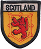 More images of Scotland Scottish Lion Rampant Shield Embroidered Patch Badge