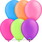 10 Any Colour Bright Neon Balloons Helium/Air Birthday Party/Wedding Decoration