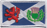 More images of Scotland Saltire Lion Rampant & Thistle Embroidered Patch