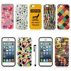 For Apple iPhone 5S 5 Luxmo Vintage Design Protective Hard Case Cover + Stylus
