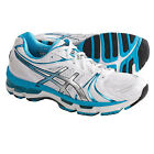 New in Box Women's Asics GEL-Kayano 18 Running Shoes White / Island Blue / Black