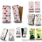 STYLISH LEATHER FLIP CASE COVER FOR SAMSUNG GALAXY S4 i9500 + SCREEN PROTECTOR