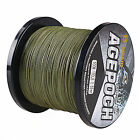 NEW!8Strands 300M Super Strong Dyneema  PE Braided Sea Fishing Line Agepoch