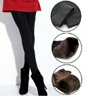 Women Warm Thick Skinny Fit Cotton Stretch Pants Footless Length Leggings Tights