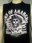 AUTHENTIC SONS OF ANARCHY AMERICAN FLAG STRIPES SOA MUSCLE T SHIRT S-3XL