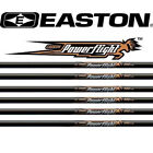 12 x Easton Powerflight Schäfte Carbonschaft
