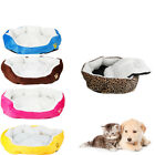 Pet Supplies - Small Medium Pet Dog Puppy Cat Soft Fleece Cozy Warm Nest Bed House Cotton Mat