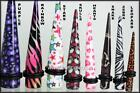 Acrylic Ear  Expanders -  Tapers  - Ear Stretchers kit               New Designs