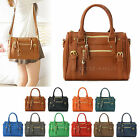 New Ladies Shoulder Tote Handbag Faux Leather Hobo Womens Cross Body Bag Purse
