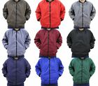 British Made Polycotton Drivers Work Bomber Jacket Coat Choice Of Colour & Size