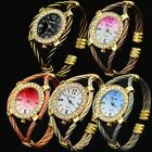 Wire-rope Color Painting Customer Choice Bracelet Wrist Watch WQ