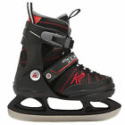 K2 SK8 Hero Ice Skate verstellbare Kinder Schlittschuhe (black red) NEU