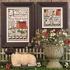 Prairie Schooler Counted Cross Stitch Charts Choose #168-#201