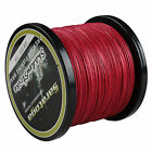 Top Quality! 8Strands Braided Dyneema Sea Fishing Line Agepoch 300M Red