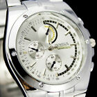 Hot Sale !  1PC New Design Men's Stainless Steel Quartz Analog Wrist Watch, NW27