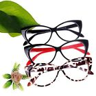 3 Color Choice! Vintage Classical Cat Eyes Design Clean Lens Eyeglasses Glasses