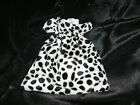 Dalmation Bag - Cruella Faux Fur Fancy Dress Accessory - NEW