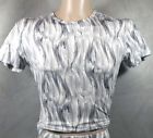 DESIGNER SHIRT GRAU / BODY ART/ Gr. 4/S-5/M