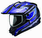 NEW GMAX GM11 DUAL SPORT ON OFF ROAD ATV MOTORCYCLE HELMET ALL SIZES ALL COLORS