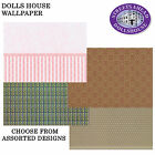 Dolls House A3 Wall Paper Choose From Assorted Designs