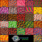 550 Type III 7 Strand Mil-Spec Commercial Paracord Crazy Colors 10' 25' 50' 100'
